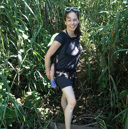 Mama And Iza Go Hiking.