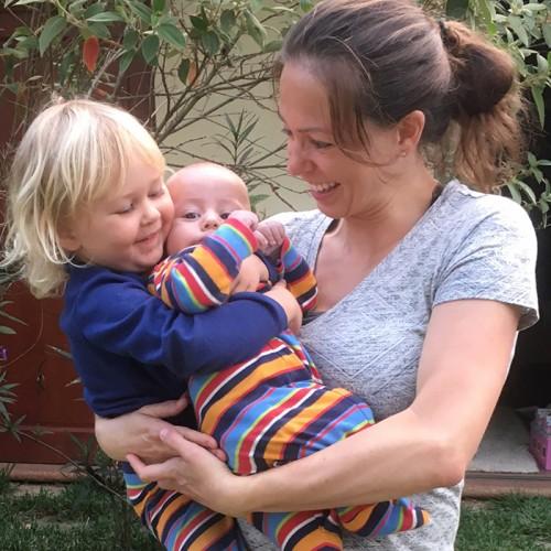 Rache And Kids In Zutano
