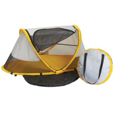 Kidco PeaPod Travel Bed With Baby Sitter, Sunshine