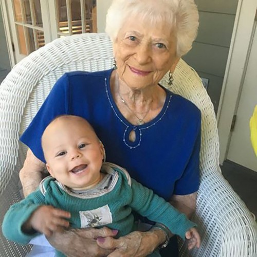 Bubby And Zai At Her 95th Birthday