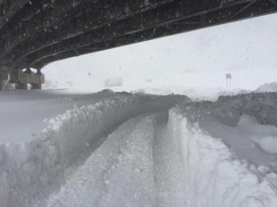 Raco Life Snow Under Harlem Bridge