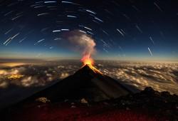 Volcan Fuego Explodes In Antigua, Guatemala