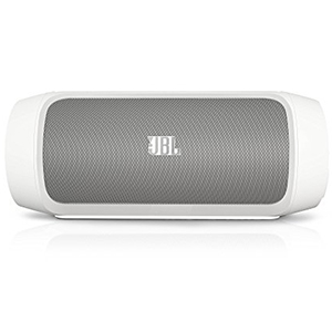 JBL Charge 2 Portable Wireless Bluetooth Speaker With Built-In Mic And PowerBank (White)