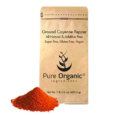 Pure Organic Cayenne Pepper