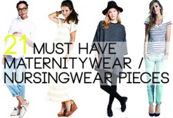 RaCo Life 21 Maternity Must Haves