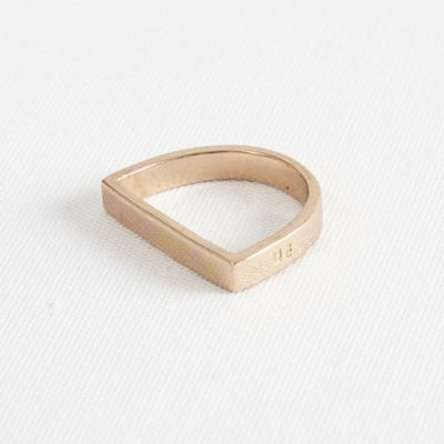 Darkroom Maya Magal's Runway D Ring Rose Gold