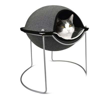 Hepper Herringbone Pod Cat Bed