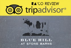 Trip Advisor Review: Blue Hill At Stone Barns; Change Your Experience