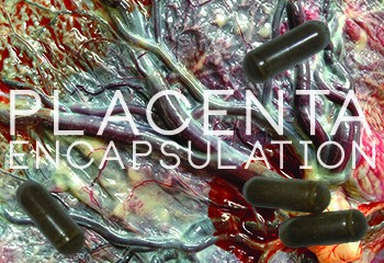 Mitigate Postpartum Blues By Encapsulating A Dehydrated Placenta