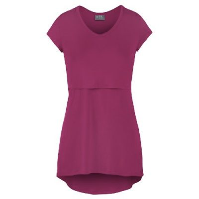 Milk Nursingwear High-Low V-Neck Nursing Top