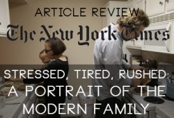 New York Times Article Review: A Portrait Of A Modern Family