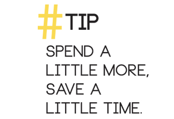 RaCo Life Tip Spend A Little More