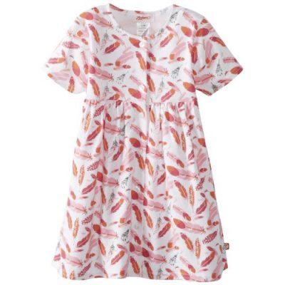 Zutano Baby Girls' Tickled Shorts Sleeve Dress